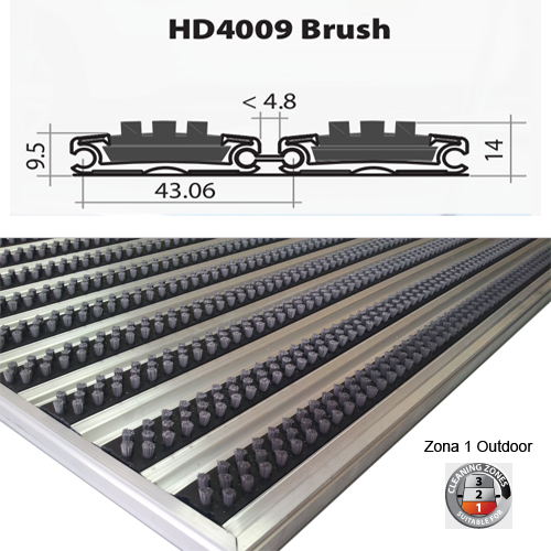 HD4009 Brush