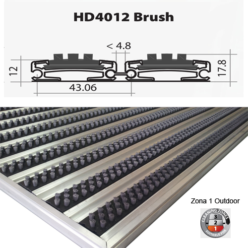 HD4012 Brush