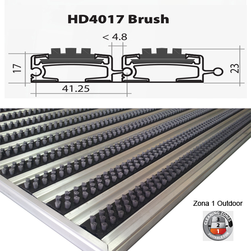 HD4017 Brush