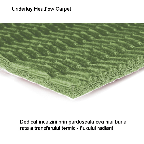 Heatflow Carpet sectiune