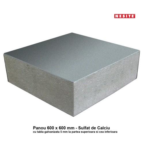 Panou 600 x 600 din Sulfat de Calciu