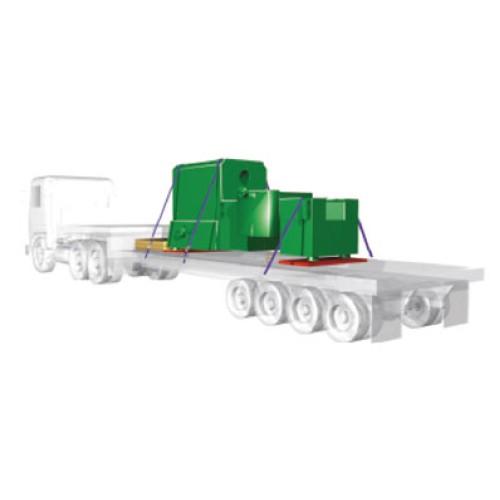 Exemplu transport utilaje / echipamente