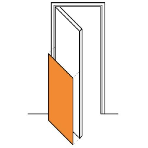 Protectie simpla 1/2 usa Decochoc, Decoclean, Decotrend