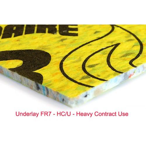 Underlay FR7 - sectiune