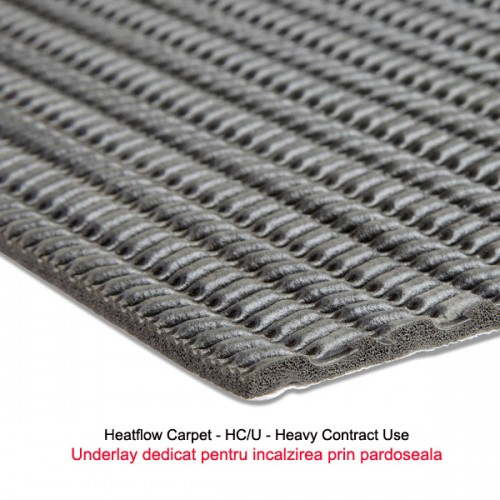 Heatflow Carpet - sectiune