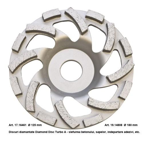 Diamond Disc Turbo A 125 sau 180 mm