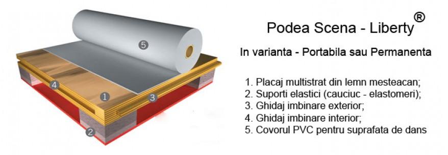 Podea Harlequin LIBERTY™