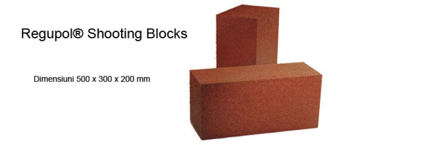 Perete captare munitie - Regupol® Shooting Blocks