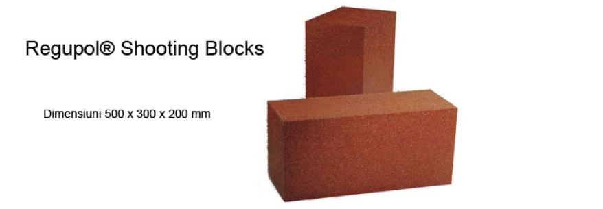 Perete captare munitie - Regupol® Shooting Blocks
