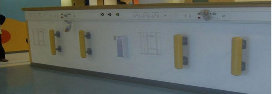 Bedkit - protectie perete verticala