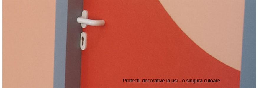 Protectii decorative la usi - 1 culoare