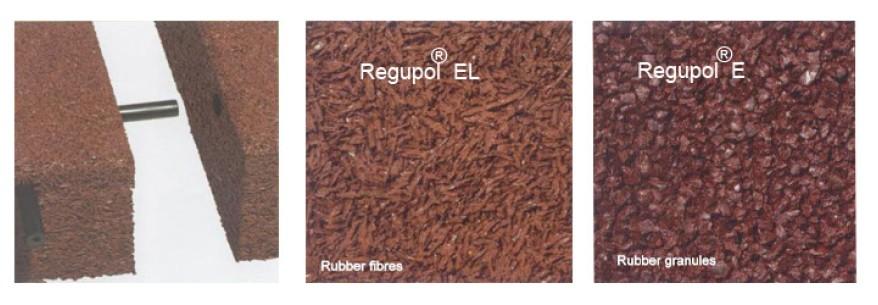 Regupol® Impact E &  EL - Placi cauciuc protectie