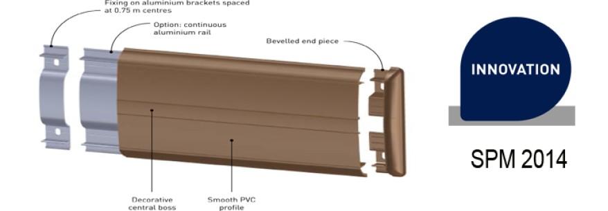 Linea Punch - protectie perete