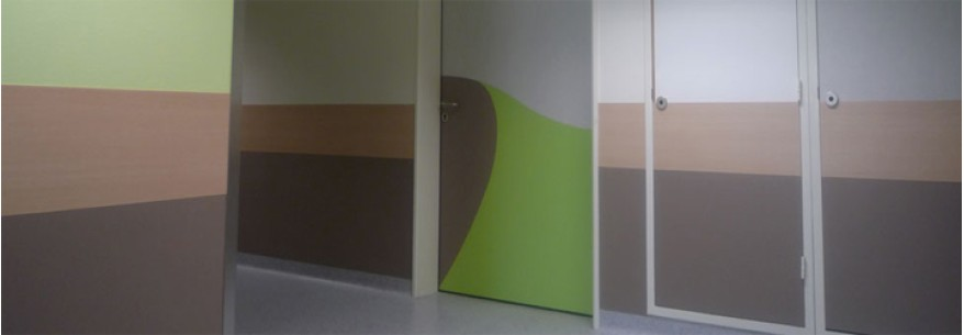 Protectii decorative la usi - 2 culori