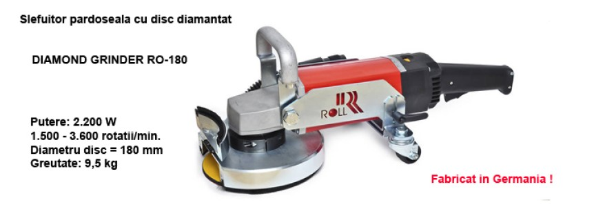 Slefuitor manual cu disc diamantat